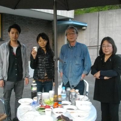 福島様ご家族 in山中湖