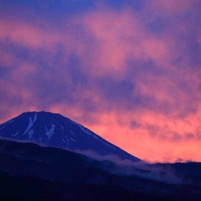 南足柄市からの富士山