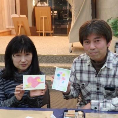 【伊豆高原】パステル画でバレンタインカードをつくろう!