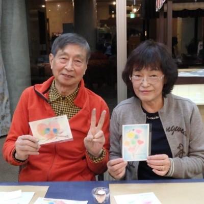 【伊豆高原】パステル画でバレンタインカードを作ろう!
