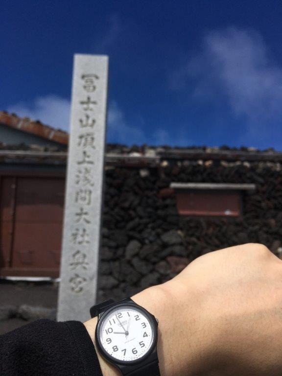 富士登山写真③