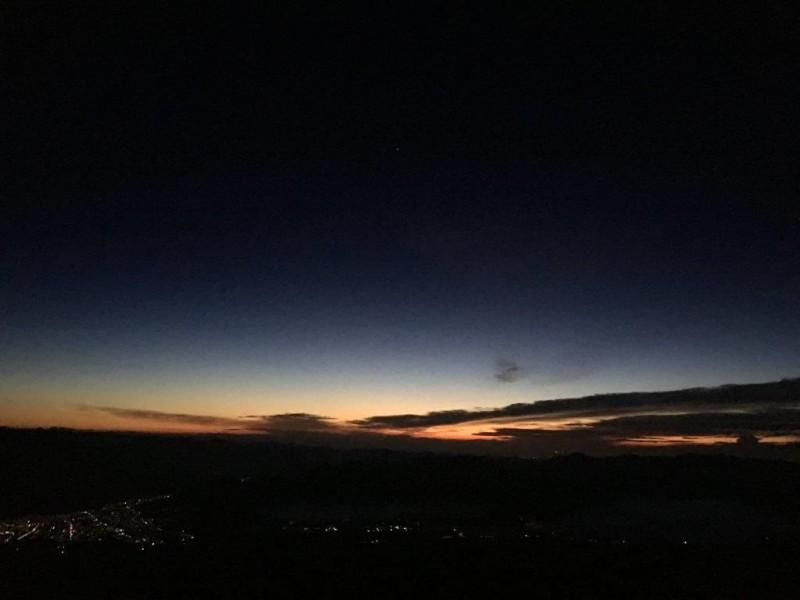 富士登山写真①