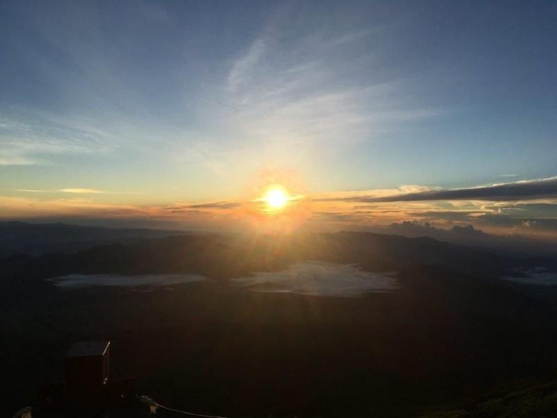 富士登山写真②