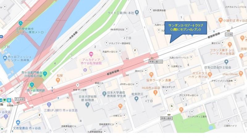 サンダンス・リゾートクラブ地図