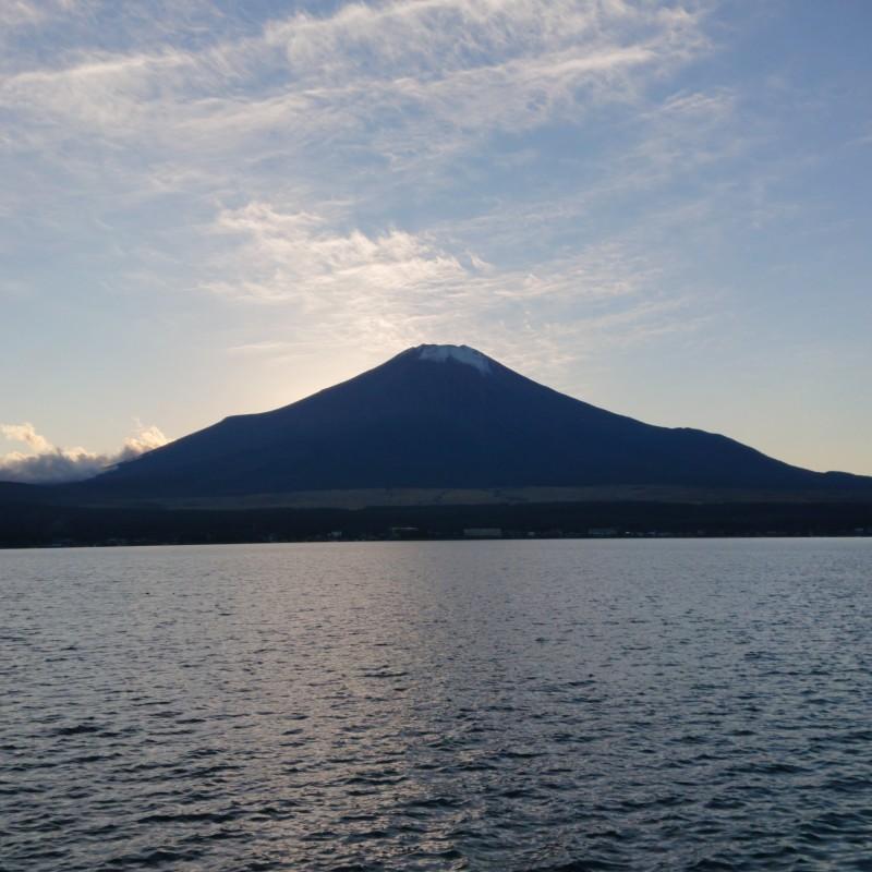 夕暮れ富士山1