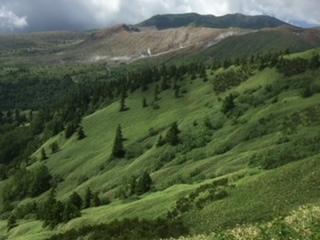 草津白根山と芳ヶ平① (2)